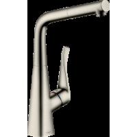 Смеситель hansgrohe Metris M71 для кухонной мойки, под сталь 73812800