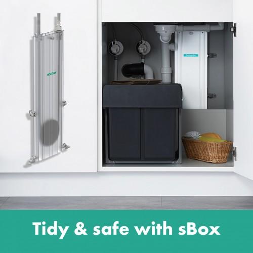 фото - Смеситель hansgrohe Aquno Select M81 для кухонной мойки с выдвижным душем, под сталь 73830800