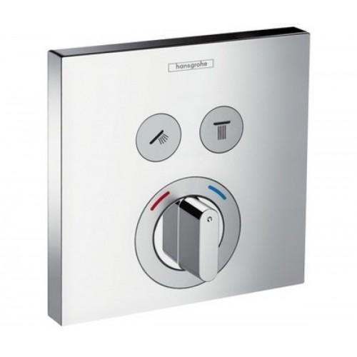 фото - Змішувач hansgrohe ShowerSelect S для 2 споживачів 15768000