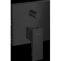 Смеситель hansgrohe Metropol для ванны настенный скрытый с рычаговой рукояткой, черный матовый 32545670