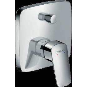 Смеситель hansgrohe Logis для ванны, со встроенной защитной комбинацией 71407000