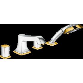 Змішувач hansgrohe Metropol Classic на 4 отвори з ручним душем 31315090