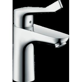 Змішувач hansgrohe Focus для раковини з довгою ручкою і без зливного гарнітура, хром 31917000