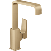 Смеситель hansgrohe Metropol для раковины со сливным клапаном Push-Open 32511140
