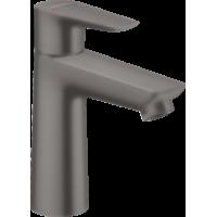 Смеситель hansgrohe Talis E для раковины со средним изливом и сливным гарнитуром, черный матовый хром 71710340