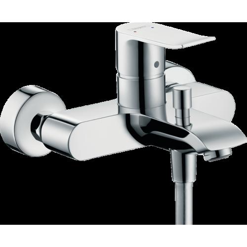 фото - Набор смесителей для ванны 3 в 1 hansgrohe Metris 31480112 (31080000, 31480000, 26620000)
