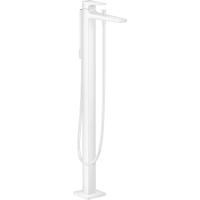 Смеситель hansgrohe Metropol для ванны, белый матовый 32532700