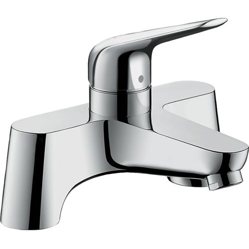 фото - Змішувач hansgrohe  Novus на борт ванни, хром 71043000