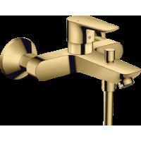 Смеситель hansgrohe Talis E для ванны, золото 71740990