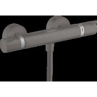 Термостат hansgrohe Ecostat Comfort матовый черный/хром 13116340
