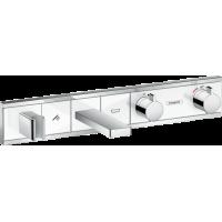 Термостат hansgrohe RainSelect для ванны с 2 потребителями, хром 15359400