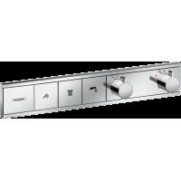 Термостат hansgrohe RainSelect скрытого монтажа на 3 потребителя, хром 15381000