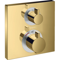 Термостат hansgrohe Ecostat Square для душа золото 15714990