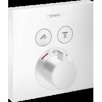 Термостат hansgrohe ShowerSelect для душа белый матовый 15763700