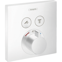 Термостат hansgrohe ShowerSelect для душа білий матовий 15763700