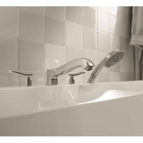 фото - Смеситель hansgrohe Metris classic на борт ванны 31314000