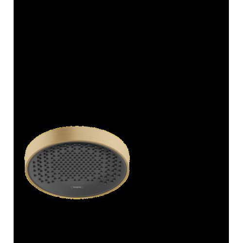фото - Верхний душ hansgrohe Rainfinity 250 1jet EcoSmart 26229140 бронза матовый