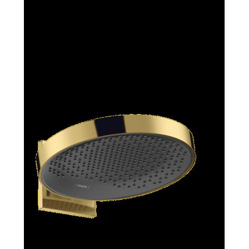фото - Верхний душ hansgrohe Rainfinity 360 1jet с настенным соединителем 26230990 золото