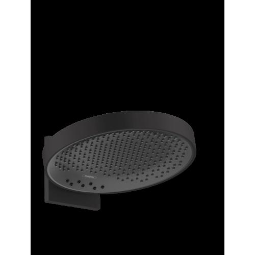 фото - Верхний душ hansgrohe Rainfinity 360 3jet с настенным соединителем 26234670 черный матовый