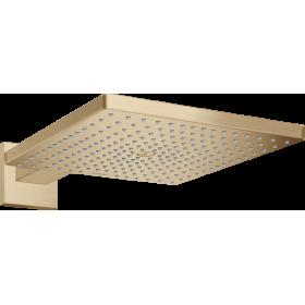 Верхній душ hansgrohe Raindance E 300 1jet з душовим кронштейном, бронза матовий 26238140