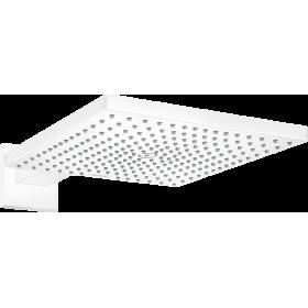 Верхній душ hansgrohe Raindance E 300 1jet з душовим кронштейном, білий матовий 26238700