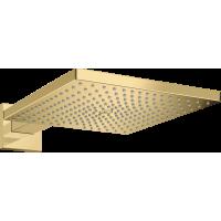 Верхний душ hansgrohe Raindance E 300 1jet с душевым кронштейном, золото 26238990