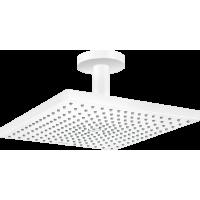 Верхний душ hansgrohe Raindance E 300 1jet с потолочным соединителем, белый матовый 26250700