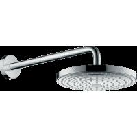 Верхний душ hansgrohe Raindance Select S 240 2jet EcoSmart настенный, хром 26470000