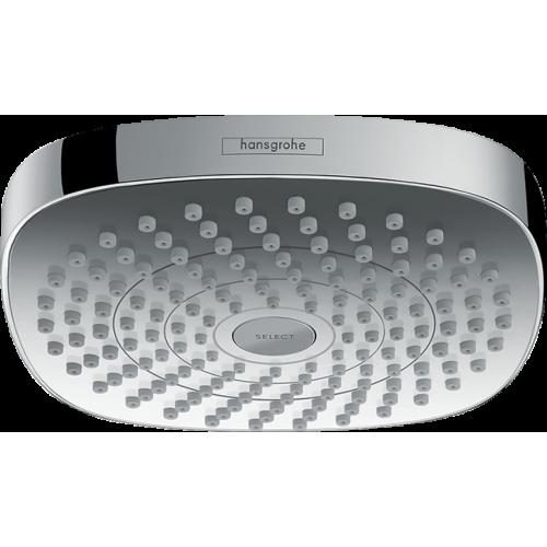 фото - Верхний душ hansgrohe Croma Select E 180, 2jet EcoSmart 26528000