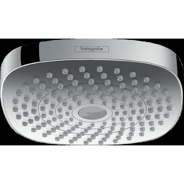 фото - Верхний душ hansgrohe Croma Select E 180, 2jet EcoSmart 26528400