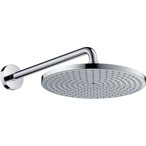 фото - Верхній душ hansgrohe Raindance S 1jet EcoSmart з кронштейном 26601000