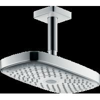 Верхний душ hansgrohe Raindance Select E 300 2jet EcoSmart с потолочным соединителем 26608400