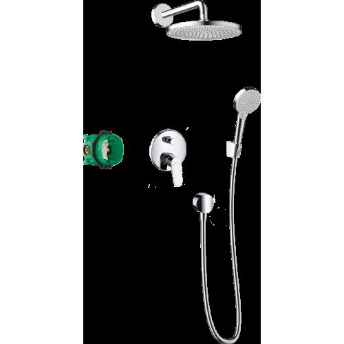 фото - Душевая система hansgrohe Crometta S 240 с однорычажным смесителем 27958000 хром
