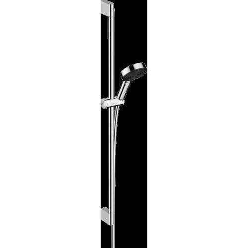 фото - Душевой набор hansgrohe Pulsify Select EcoSmart со штангой 90 см 24171000