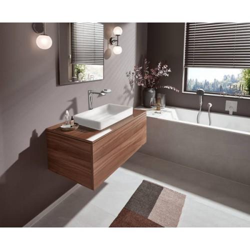 фото - Ручний душ hansgrohe Pulsify Select Relaxation 24110670 чорний матовий