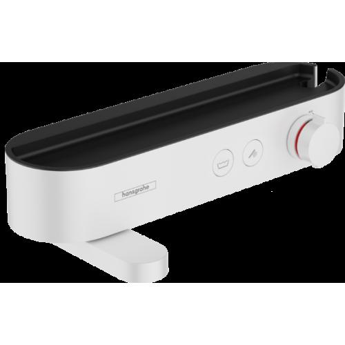 фото - Термостат hansgrohe ShowerTablet Select для ванны, белый матовый 24340700