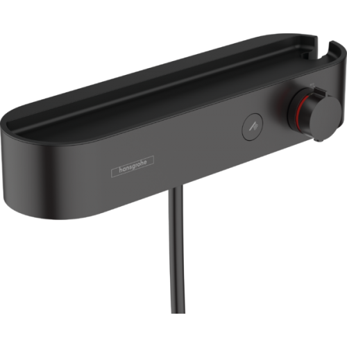 фото - Термостат hansgrohe ShowerTablet Select для душа, черный матовый 24360670