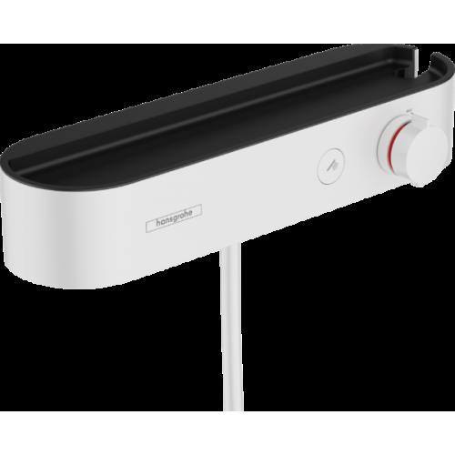 фото - Термостат hansgrohe ShowerTablet Select для душа, белый матовый 24360700