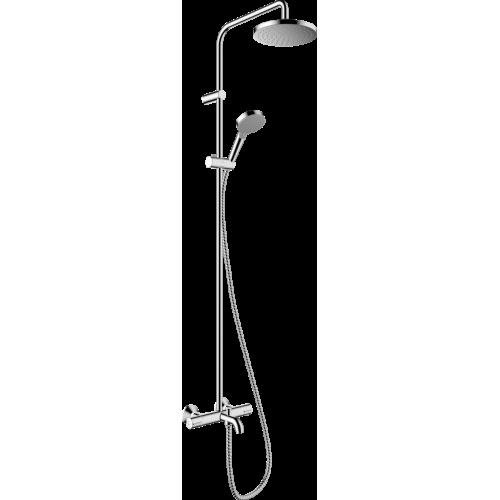 фото - Душевая система hansgrohe Vernis Blend Showerpipe 200 1jet с термостатом 26274000 хром