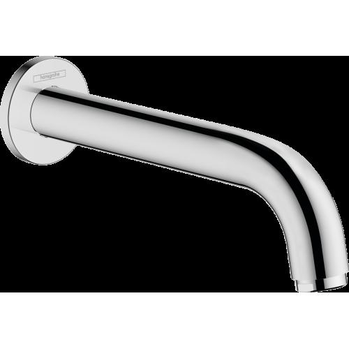 фото - Излив hansgrohe Vernis Blend для ванны, хром 71420000