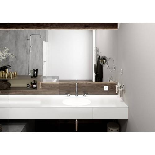 фото -  Змішувач hansgrohe Vernis Blend для раковини з зливним набором, чорний матовий 71553670