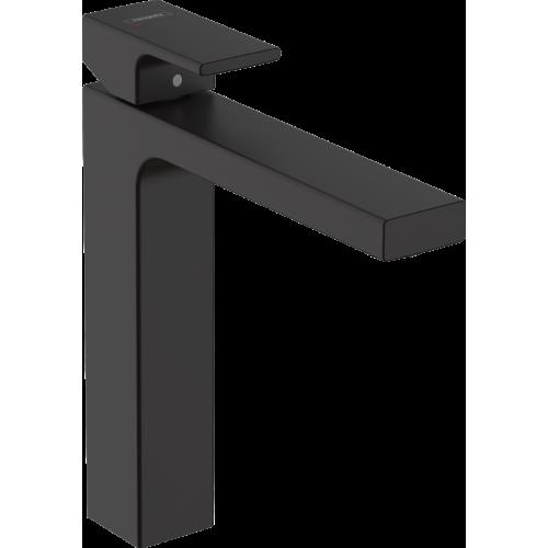 фото -  Змішувач hansgrohe Vernis Shape для раковини із зливним гарнітуром, чорний матовий 71562670
