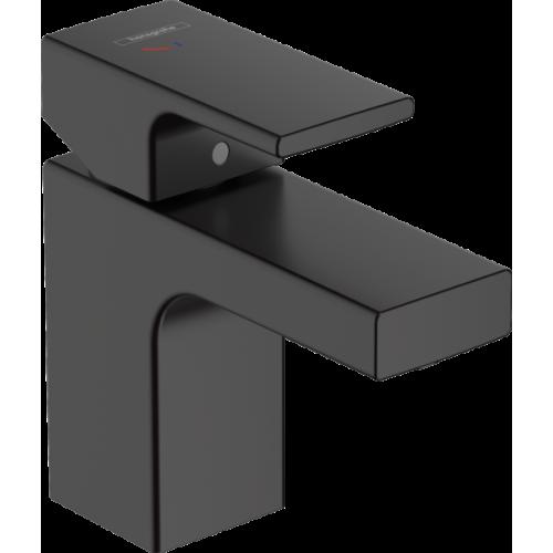 фото -  Змішувач hansgrohe Vernis Shape CoolStart для раковини із зливним гарнітуром, чорний матовий 71593670