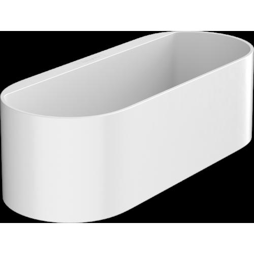 фото - Корзинка для хранения hansgrohe WallStoris 27912700 глубокая, белый матовый