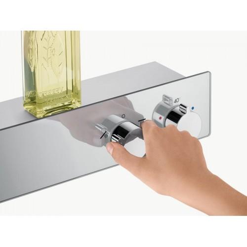 фото - Термостат hansgrohe ShowerTablet 600 для душа на 2 споживача, хром 13108000