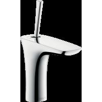 Смеситель hansgrohe PuraVida для раковины со сливным клапаном Push-Open, хром 15070000