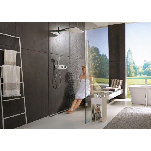 фото -  Термостат hansgrohe RainSelect для душа на 3 споживача, хром 15356000