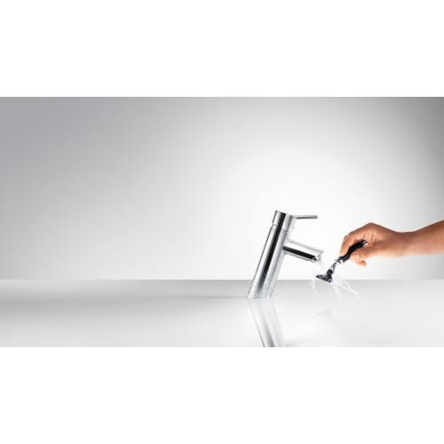 фото - Змішувач hansgrohe Talis  для раковини із зливним гарнітуром, хром 32040000