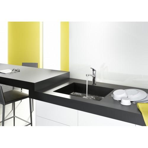 фото - Змішувач hansgrohe Focus M41 для кухонної мийки з поворотним виливом, хром 73885000
