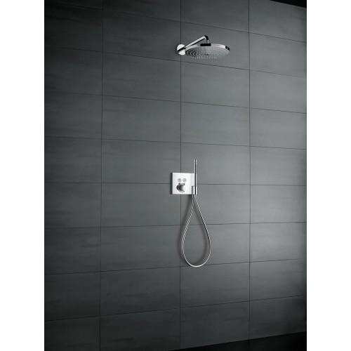 фото - Верхній душ hansgrohe Raindance Select S 300 2jet з тримачем 390 мм, хром 27378000